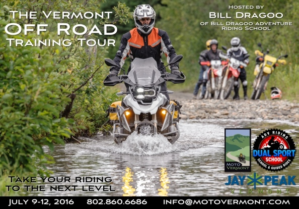 MotoVermont Training Tour